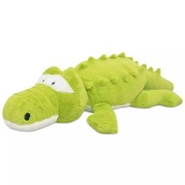 vidaXL Kuscheltier Krokodil XXL 100cm Plüschkrokodil Plüschtier Stofftier - 1