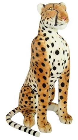 Wagner 2002 - Plüschtier Gepard - sitzend - 80 cm - 1