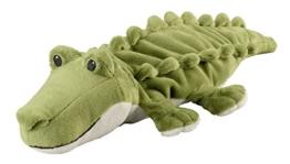 "Warmies® Wärmekissen/Stofftier""Minis Krokodil"" herausnehmbare Hirse Lavendelfüllung 20cm 280g - 1"