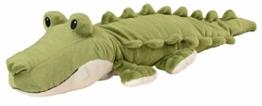 "Warmies® Wärmekissen/Stofftier""Krokodil"" Hirse Lavendelfüllung 40cm 800g - 1"