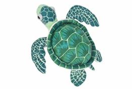 Wild Republic 10894 22460 Plüsch Schildkröte, Cuddlekins Kuscheltier, Plüschtier 20 cm, grün - 1