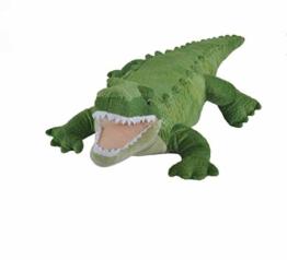 Wild Republic 11106 Plüsch Alligator, Krokodil, Cuddlekins Kuscheltier, Plüschtier, 40cm - 1