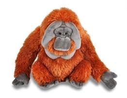 Wild Republic 12250 Plüsch Orangutan, Cuddlekins Kuscheltier, Plüschtier, 30 cm - 1