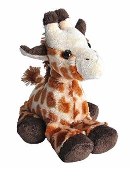 Wild Republic 14885 Hug'ems Plüschtier, Kuscheltier, Giraffe 18cm - 1