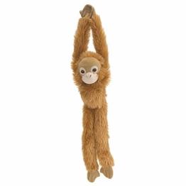 Wild Republic 15254 - Hanging Monkey Orang-Utan Plüsch-Affe, 51 cm - 1
