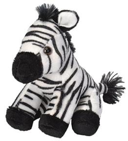 Wild Republic 16266 Republic 18115 - CK Lil's Plüsch Zebra, 15 cm - 1