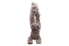 Wild Republic 16387 - Hanging Sloth, Hängendes Plüsch Faultier mit Klettverschlüssen, 44 cm - 1