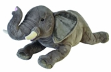 Wild Republic 18076 Republic 19552 Jumbo Plüsch Elefant, großes Kuscheltier, Plüschtier, Cuddlekins, 76 cm - 1