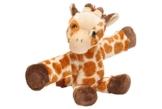 Wild Republic 18089 Huggers Schnapparmband Kuscheltier, Plüschtier, Giraffe 20 cm - 1