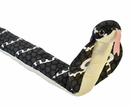Wild Republic 19153 20730 Cobra Peluches Snakess Kobra Schlange Plüsch, 137 cm - 1
