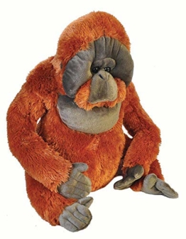 Wild Republic 19327 Jumbo Plüsch Orangutan AFFE, großes Kuscheltier, Plüschtier, Little Biggies, 53 cm - 1