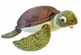 Wild Republic 19332 Jumbo Plüsch Schildkröte, großes Kuscheltier, Plüschtier, Cuddlekins, 76 cm - 1
