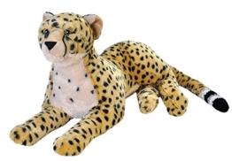 Wild Republic 19553 Jumbo Plüsch Gepard, großes Kuscheltier, Plüschtier, Cuddlekins, 76 cm - 1