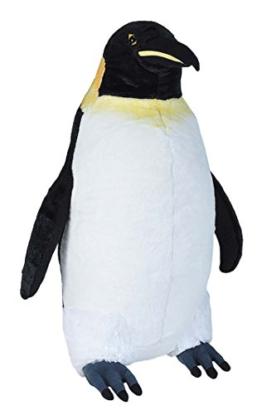 Wild Republic 20715 Jumbo Plüsch Pinguin, großes Kuscheltier, Plüschtier, Little Biggies, 53 cm - 1