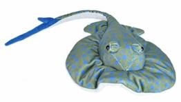 Wild Republic Plüsch Blaugefleckter Rochen, Cuddlekins Kuscheltier, Plüschtier 30 cm - 1