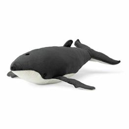 WWF Plüsch WWF00627, WWF Plüschtier Buckelwal (60cm), realistisch gestaltetes Plüschtier, Super weiches, lebensecht gestaltetes Plüschtier zum Knuddeln und Liebhaben, Handwäsche möglich, 15176018 - 1