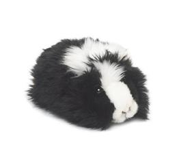 WWF Plüschtier Meerschweinchen (19cm) 2 Farben schwarz braun Kuscheltier (schwarz) - 1