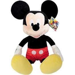 XXL Micky Maus Kuscheltier 80 cm - XXL Disney Mickey Mouse Clubhouse Plüsch Tier Micky Maus Stofftier - 1