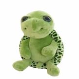 YeahiBaby Grüne Schildkröte Plüschtier Stofftier Kawaii Turtle Puppe Kissen Kissen 18cm - 1