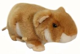 Zaloop Hamster Goldhamster Plüschtier Kuscheltier Stofftier Plüschhamster D13 - 1