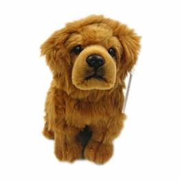 Zhenwo Stofftier Chow Chow Puppe Frise Welpe Kuscheltier Hund Plüschtier Niedliche Simulation Haustiere Flauschige Puppen Geburtstagsgeschenke,A - 1