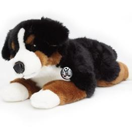 Berner Sennenhund BERND liegend 42 cm Plüschtier von Kuscheltiere.biz - 1