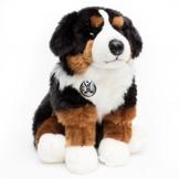 Berner Sennenhund FANNY sitzend 27 cm Plüschtier von Kuscheltiere.biz - 1