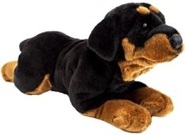 Brubaker Rottweiler liegend ca. 44 cm Plüschtier Stofftier - 1