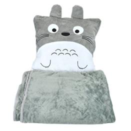 CoolChange Totoro Kuschel Kissen und Decke - 1