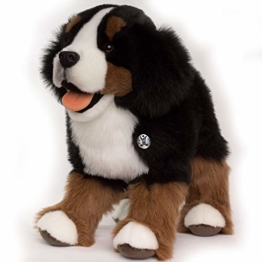 Kuscheltiere.biz Berner Sennenhund ROXETT Schlenkerhund 50 cm Plüschtier - 1