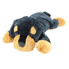 Sweety Toys 5512 XXL Riesen Rottweiler Plüschhund - ca. 80 cm groß - Kuschelhund Teddybär Plüschtier Plüsch Plüschbär Sweety-Toys - 1