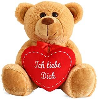 Teddybär mit Herz Plüschtiere Logo
