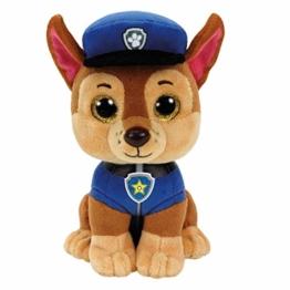 TY 96319 Shepherd Dog Aladdin Paw Patrol, Chase 24cm, braun - 1