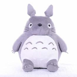 W-XY Totoro Plüschtier Grau 20-65cm Stofftier Kuscheltier Geschenk Für Paare/Kinder/Familie am Valentinstag,20cm - 1