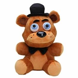 agzhu 25Cm Cute Five Nights bei Freddys Plüschtier Albtraum Fredbear Golden Freddy Fazbear Gefüllte Spielzeugpuppe - 1