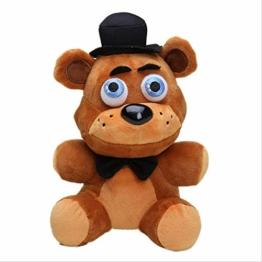 Five Nights At Freddy's Toy 25cm FNAF Pillow Mangle Foxy Chica Bonnie Golden Freddy Fazbear Plush Toys Cushion juguetes brown bear - 1