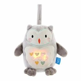Gro Grofriend Einschlafhilfe für Babys, Spieluhr aus Plüsch und Nachtlicht, Ollie die Eule - 1