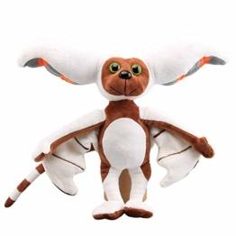 Herbests Momo Plüschtier Plüsch Bat Appa Puppe Spielzeug Plüsch Fledermaus Spielzeug Plüschfigur Weiche Kuscheltiere Stofftiere Fledermauspuppe Kinderspielzeug für Kindergeburtstag Weihnachten, 28cm - 1