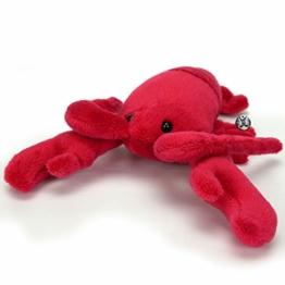 Hummer ADJOA rote Garnele Zehnfußkrebs Krebs 21 cm Kuscheltier Plüschtier - 1
