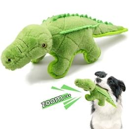 Iokheira Hundespielzeug, Quietschspielzeug für Hunde Plüschspielzeug für Hund aus natürlicher Baumwolle, hergestellt für mittelgroße Hunde, Große Hunde - 1