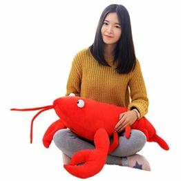 Kaliya Hummer-Plüschtier-niedliches Plüsch-weiches Kissen-angefüllte Krabben-Tiergeburtstags-knuddelige Geschenke - 1