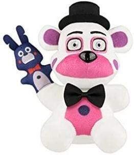 LLMZ Five Nights at Freddy's Bonnie Plüsch,Spielzeugfiguren-Fünf Nächte bei Toy Bear Bonnie Plüschpuppe Spielzeug Gefüllte Körper Kissen (18cm) - 1