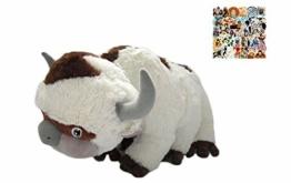 LYH2019 Ressource Appa Avatar Kuscheltiere Plüschpuppe Kuhspielzeug Geschenk Kawaii Plüschtier Einhornkissenspielzeug 45cm-55cm 55cm - 1
