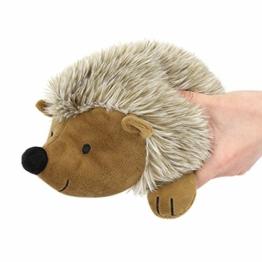 Pawaboo Plüschspielzeug für Hunde, Igel Plüsch Hundespielzeug Interaktiv Hundspielzeug mit Quietscher, Ungiftig Ultra Weich Robust für Hunde Katzen Beißen Spielen Training, L Size für Große Hunde - 1