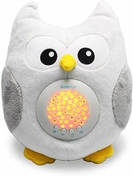 Spieluhr Baby Weisses Rauschen Spielzeug -Einschlafhilfe Babys- Eule Sound machine - Kleinkind Schlafhilfe -Baby Nachtlicht - Einzigartiges Baby Geschenk - Kinderwagen Spielzeug Geschlechts Neutral - 1