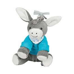 Sterntaler, Chilling Box Esel Erik Einschlafhilfe mit Bluetooth Lautsprecher Alter Babys ab der Geburt 20 x 20 x 8 cm, mehrfarbig - 1